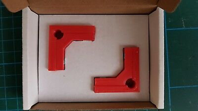 Model Makers 90° degree Right Angle Magnetic Clamps (2 Pairs) - in 4 Sizes 9