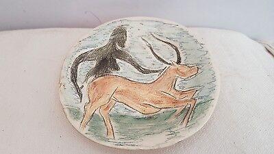 ceramic signed. céramique signée 5