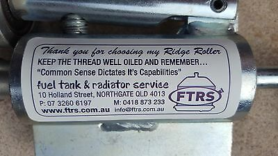 RIDGE OR BEAD ROLLER FORMER RADIATOR COPPER BRASS ALUMINIUM PIPE INTERCOOLER