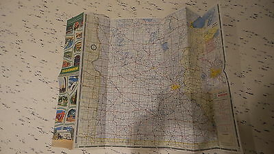 CIRCA 1950 CITIES SERVICE MINNESOTA ROAD MAP - $7.00 | PicClick