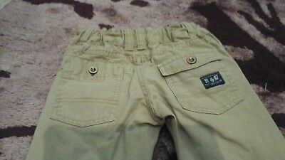 Beige chino, combat trousers Aged 3-4 years 4