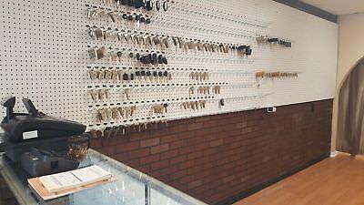 2 NEW KEYS FOR HUSKY TOOL BOX KEYS CUT TO CODE Home Depot Locksmith Keys