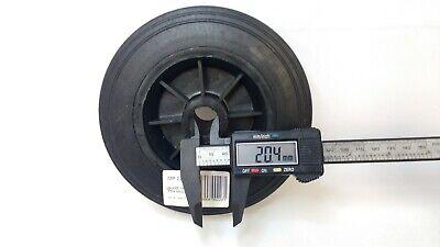 Black Plastic Replacement Jockey Wheel Fits Mp437 155Mm Maypole Genuine Mp226 5