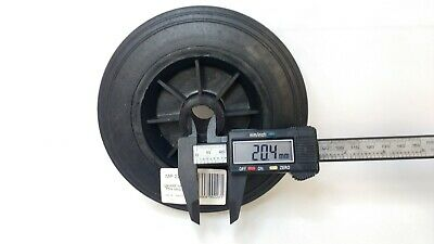 Jockey Wheel Replacement Black Plastic Fits Mp437 155Mm Maypole Genuine Mp226 5
