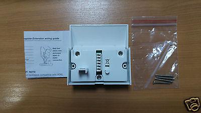 PLUSNET BT VDSL2 High Speed Fibre Broadband Filter Cover 4 NTE5 Master  Socket