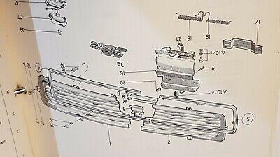 FORD TAUNUS 12M 15M P6 CLIP WIRING ENGINE COMPARTMENT #470218 NOS!