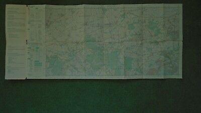 "Ordnance Survey 2.5"" Map SY89/99 Bere Regis 1972 Corfe Mullen Lychett Affpuddle 2"