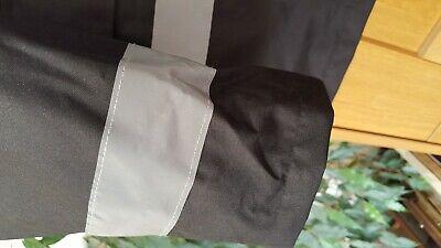 KAPTON Men's HiViz High Visibility Safety Security Coat Black XL RRP £45 7
