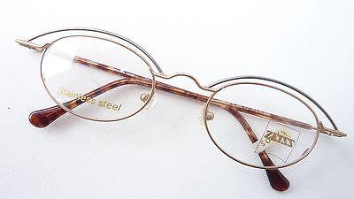 Brillenfassungen Zeiss Brille Damen Gestell Stainless Steel Mit Ovaler Form Gold Silber Size L Augenoptik