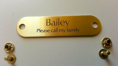 Custom Engraved Personalized Pet Tag Id Dog Cat Name Tags Double Side 11