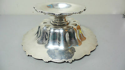 """Gorgeous American Redlich & Co Sterling Silver Large 10.5"""" Compote / Centerpiece 11"""