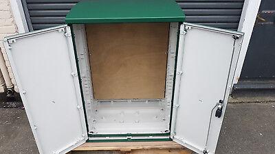 GRP Electric Enclosure, Kiosk, Cabinet, Meter Box, Housing (W800, H1154, D640)mm 3