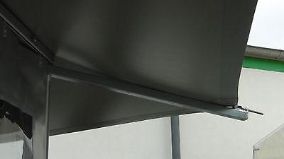 Verkaufsstand Grillstand Imbiss Bewirtungsstand mit 15m Theke kein Rundrohr