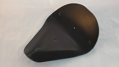 Solo motorcycle deep dish seat pan Bobber 650 Chopper WCC Harley AF2D 62717-3