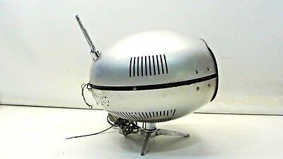 Panasonic Orbitel TR-005 UFO Transistor TV Vintage Mid Century Eyeball 4