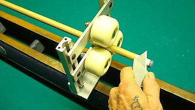 LATHE ROLLER REST CUE TIP TOOL TURN ROUND OBJECTS ON LATHE OR DRILL 6in model