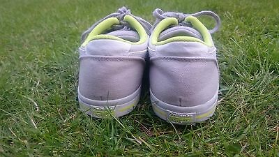 Onitsuka Tiger Aaron canvas grey, white & green sneakers boys (UK4.5, EU37.5) 3