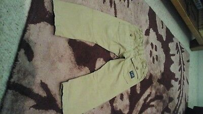Beige chino, combat trousers Aged 3-4 years 5