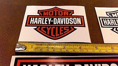 LOT of 10 Harley Davidson stickers for car truck Bike Helmet tool box Free Ship 6