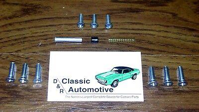 Comfort Grip Steering Wheel Kit Black Cushion 3-spoke Camaro Chevelle Impala