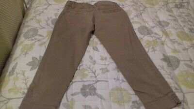 👖👖Nice Girls Cropped Trousers By Next Age 10 Good Condition 👖👖 3