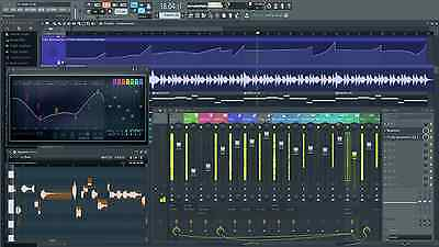 Image Line FL STUDIO 20 SIGNATURE BUNDLE Software DAW Edu Full Retail NEW