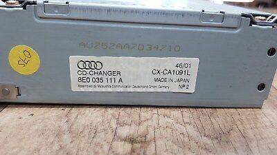 Original Audi A4 S4 B6 B7 8E 8H CD-Wechsler 6-fach 8E0035111A 8E0057111A