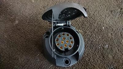10 x 13 Pin Euro Socket for Cars, Campervans, Motorhomes etc. UK Supplier 2