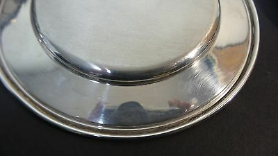 "Set/6 Whiting Mfg. Co. Sterling Silver 6"" Bread & Butter Plates, Monogram 5"