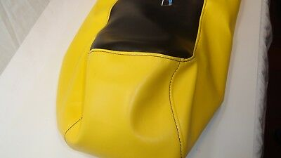 Ski-doo Mini Z 120 Youth Mini-Z Black / Yellow Seat Cover Fits 1998,1999,2000 3