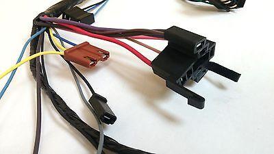 1969-1972 chevy pick up truck under dash wiring harness with gauges  1969 blazer 12
