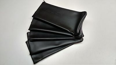 5x Black Leather Shure Mic Protective Storage Bags Pouches for SM58 SM57 Mics 2