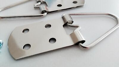 Heavy Duty 4 Hole Strap Hangers for Pictures and Mirrors - Great Quality 2