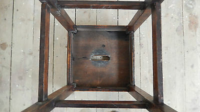 ANTiQUE / VINTAGE SCHOOL STOOL  Possibly Victorian or Edwardian 5