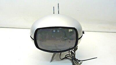 Panasonic Orbitel TR-005 UFO Transistor TV Vintage Mid Century Eyeball 3