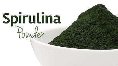 Organic SPIRULINA Powder certified High in protein B vitamins Detox Energy Boost 3