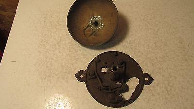 1874 Cast Iron & Brass Door Bell Parts 2