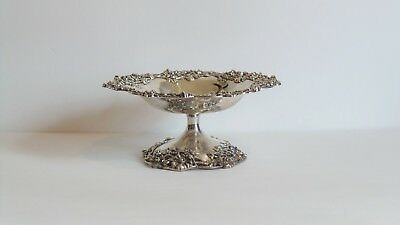 "Sterling Silver 7.5"" Tazza Compote, Black, Starr & Frost, New York, c.1890 9"
