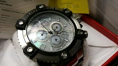 Invicta Arsenal Reserve 63mm Grand 15834 Swiss Made Quartz Chro Stainless Steel 5