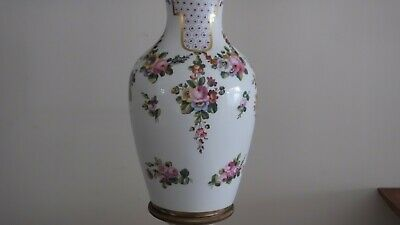 "18th Century 22"" Sevres Urn w/ Musical and Floral Motif. Sevres Mark, Initialed 8"