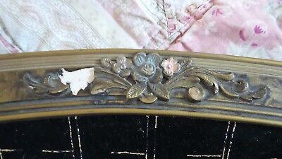 Vintage Hand Embroidered The Last Supper Gold Thread On Black Velvet Framed 25 68 Picclick Uk
