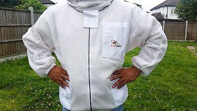 Ventilated Beekeeping Jacket Beekeeper Jacket fencing veil bee Jacket ALL SIZES 5