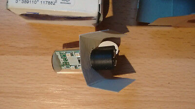QTYx1 Telemecanique BA15d LED Lamp. Red - Model number - DL1 BDB4 011796 2