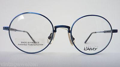 Lamy Kinderbrille Unisex Brille oval Federscharniere dunkelblau preiswert neu 2