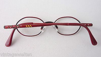 Leo rote Kleinkinderbrille Babyfassung Metallgestell Federbügel lunettes stabil 4