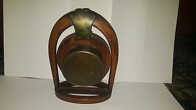 Late19th Century Japy Freres Horseshoe Clock and Key A/F 7