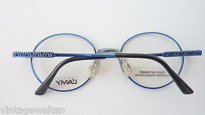 Lamy Kinderbrille Unisex Brille oval Federscharniere dunkelblau preiswert neu 4