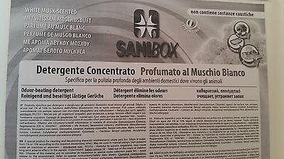 Sanibox in tanica da 5 litri detersivo igienizzante detergente pulizia pavimenti 4