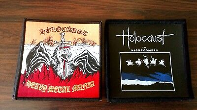Tygers .Cloven Hoof.Diamond Head. Holocaust.Tokyo Blade.Demon. NWOBHM. Patches 10