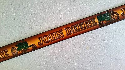 4517500 John Deere Men/'s Horse Leather with Camo Cutouts Belt
